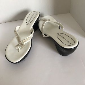 Athena Alexander slippers white made in Italy 12